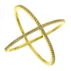 Jewelry - Cubic Zirconia gold ring